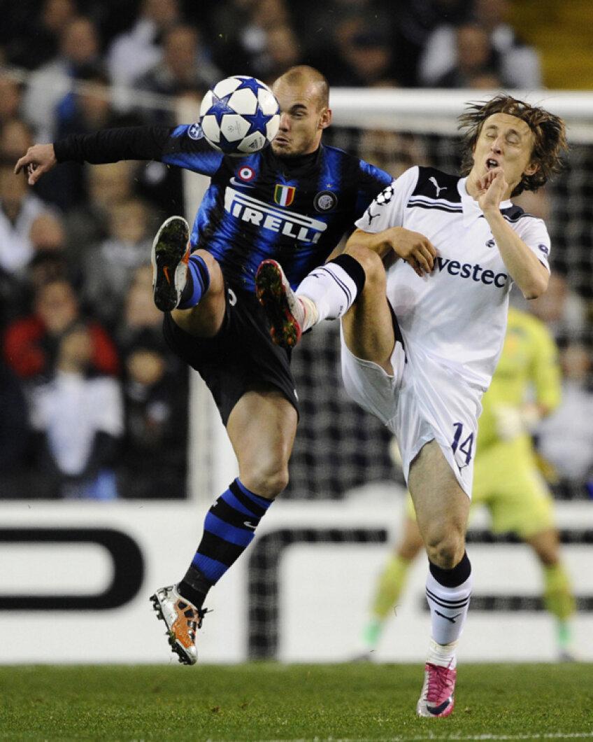 Sneijder e unul dintre cei mai buni jucători ai lui Inter