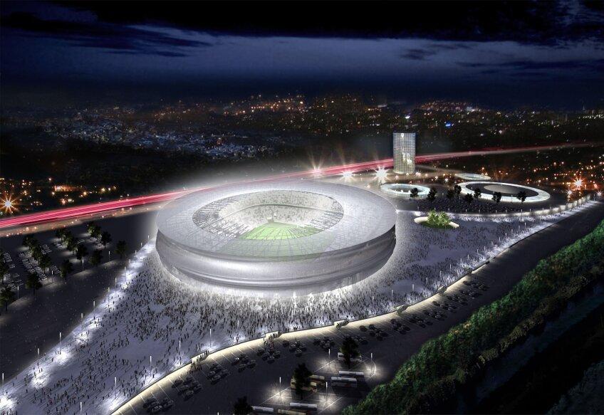 Stadionul celor de la Slask Wrocław