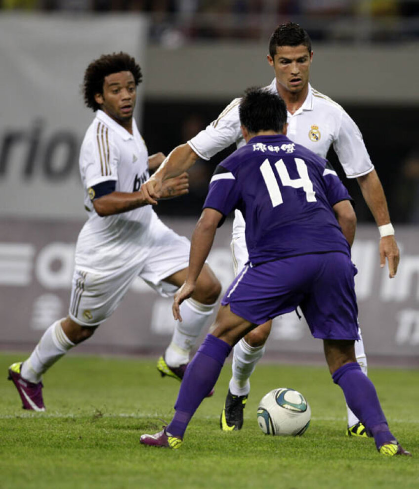 Foto: Reuters Ronaldo (la minge) a dat 7 goluri în