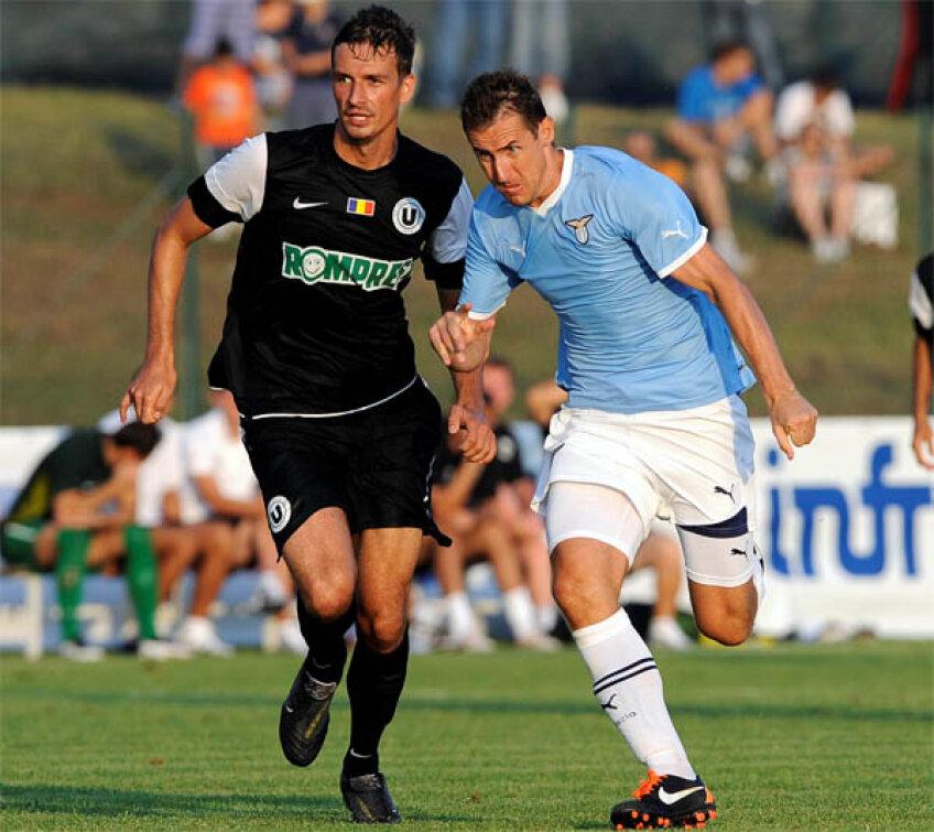 Lazio a învins U Cluj cu 4-1