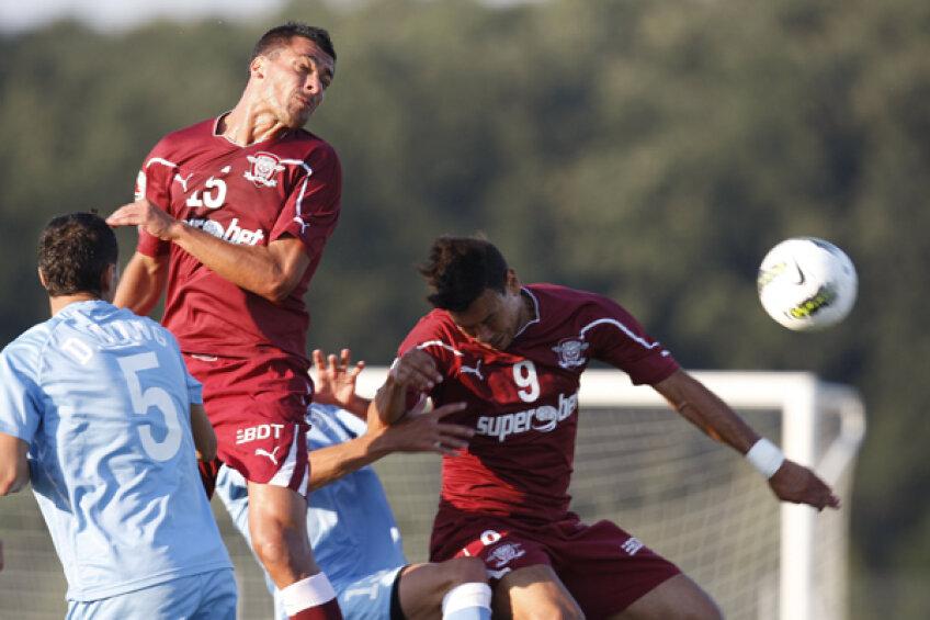 Rapid s-a impus cu 2-1 în meciul amical cu Sportul