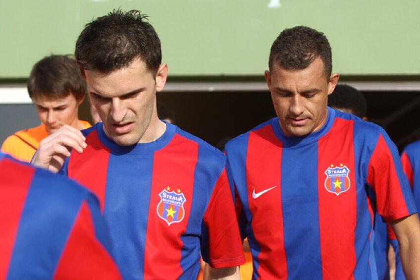 Bilaşco şi Ricardo au venit la Steaua la mijlocul turului sezonului trecut, dar niciunul nu se mai regăseşte acum în echipă
