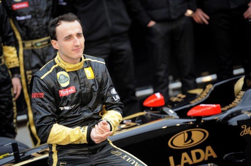 Polonezul Robert Kubica (sursa foto: itv-f1)