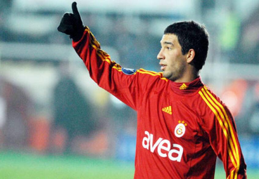 Arda Turan este pe locul 1 în topul celor mai scumpi jucători turci