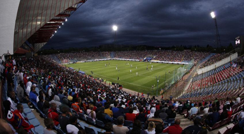 Ultimul meci disputat de Steaua pe Ghencea a fost cel cu FCM Tg. Mureş (1-0), pe 16 mai, în faţa a 2.900 de spectatori