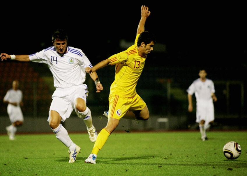 Ovidiu Herea a marcat singurul gol al partidei