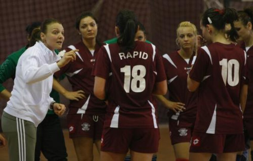 Simona Gogîrlă a mai avut oferte să joace, dar a preferat să înceapă cariera de antrenoare la Rapid