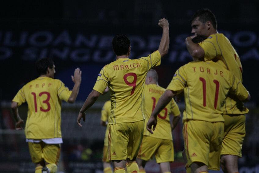 Marica a marcat de două ori în ultimul meci oficial al naţionalei (3-0 cu Bosnia)