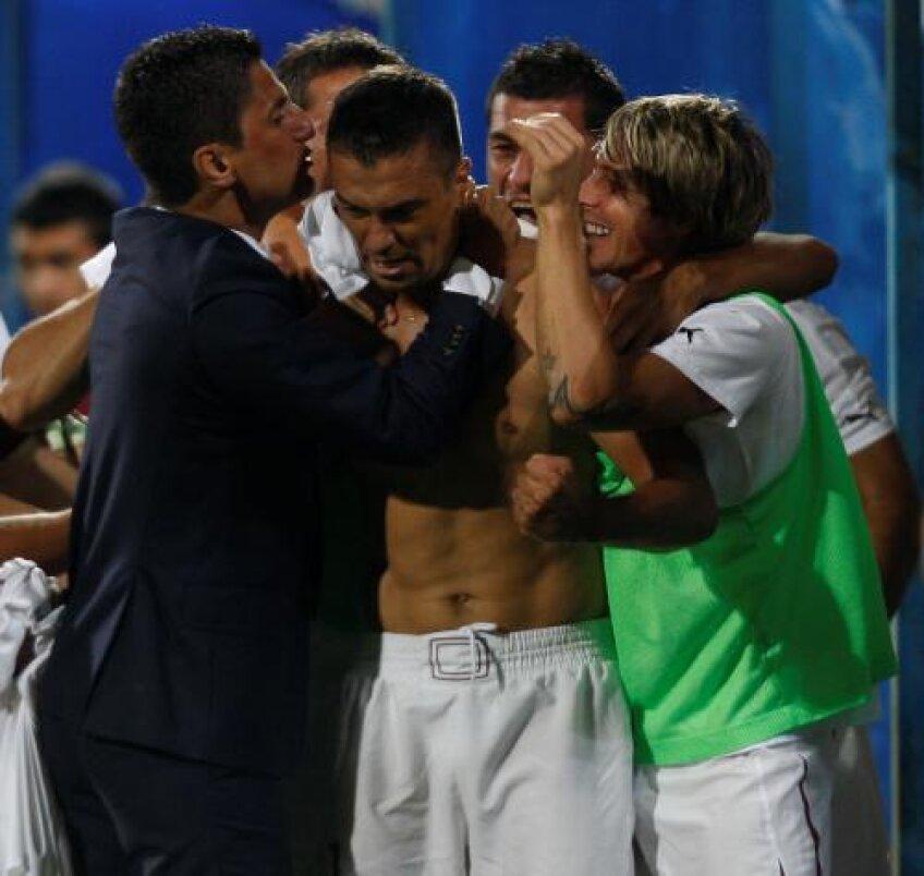 Pancu a marcat primul său gol din acest sezon