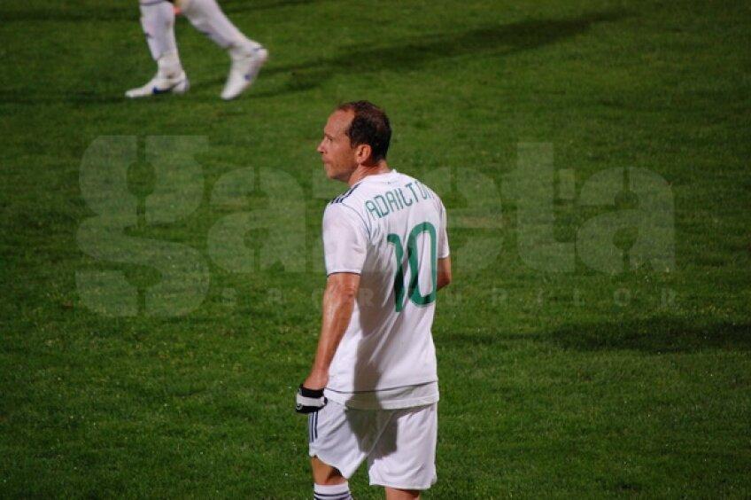 Adailton a centrat la două goluri ale Vasluiului