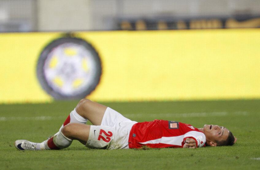 Gabriel Torje a obţinut ambele penalty-uri ale lui Dinamo aseară