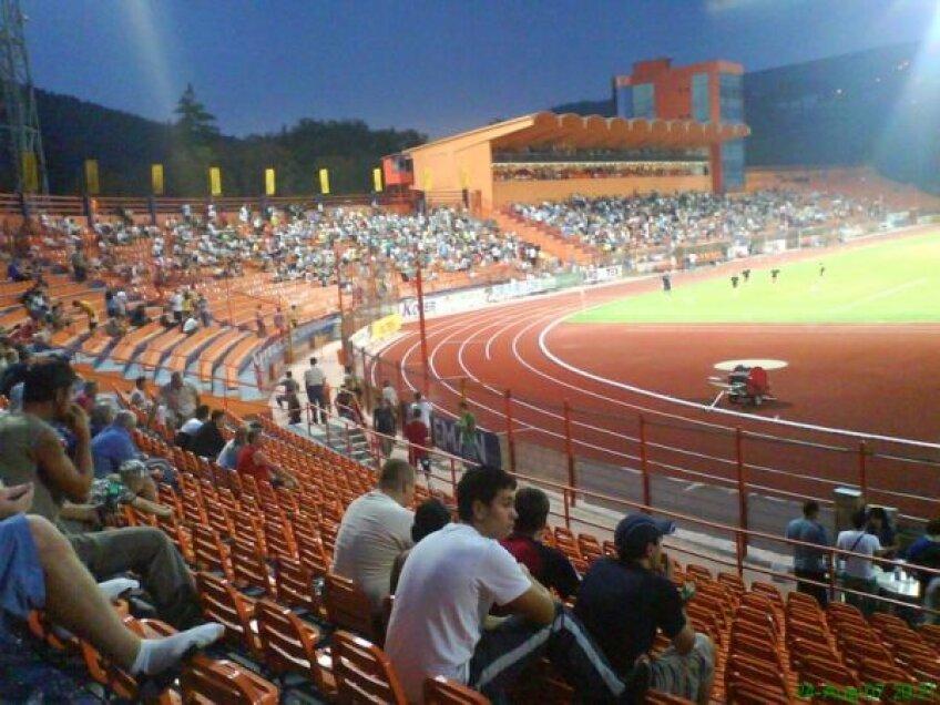Organizatorii spun că majoritatea suporterilor la meciul de diseară, cu Oţelul, vor fi moldoveni care lucrează în Italia şi au venit în concediu acasă