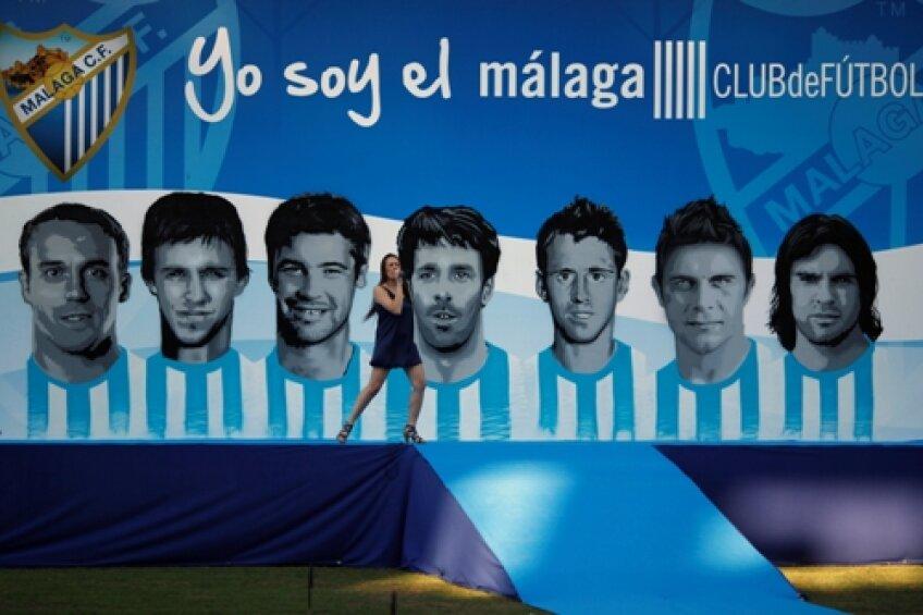 Așezate într-un poster, noile achiziții fac din Malaga una dintre atracțiile viitoarei stagiuni
