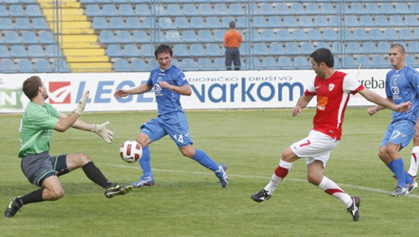 În precedenta deplasare europeană, Dinamo s-a impus la Varazdin, 2-1