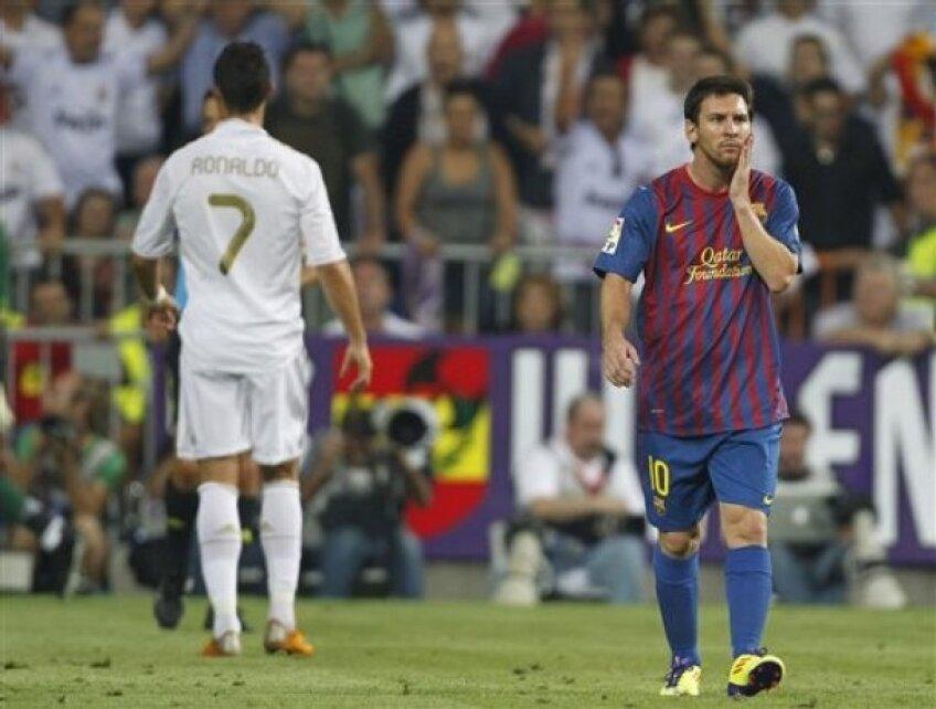 Duelul Cristiano - Messi a stîrnit, ca de obicei, mare interes în rîndul microbiştilor
