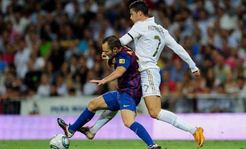 Ronaldo şi Iniesta se vor lupta în această seară în returul Supercupei Spaniei