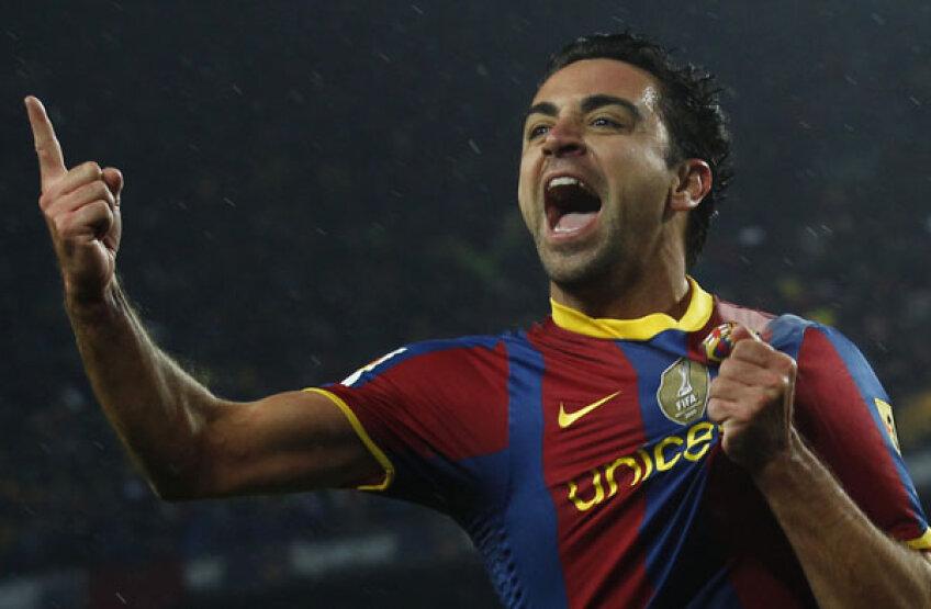 7,5 milioane de euro este salariul anual al lui Xavi la FC Barcelona
