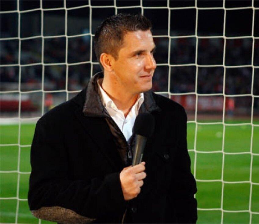 Narcis Răducan după victoria Stelei cu 2-0 în faţa lui ŢSKA: