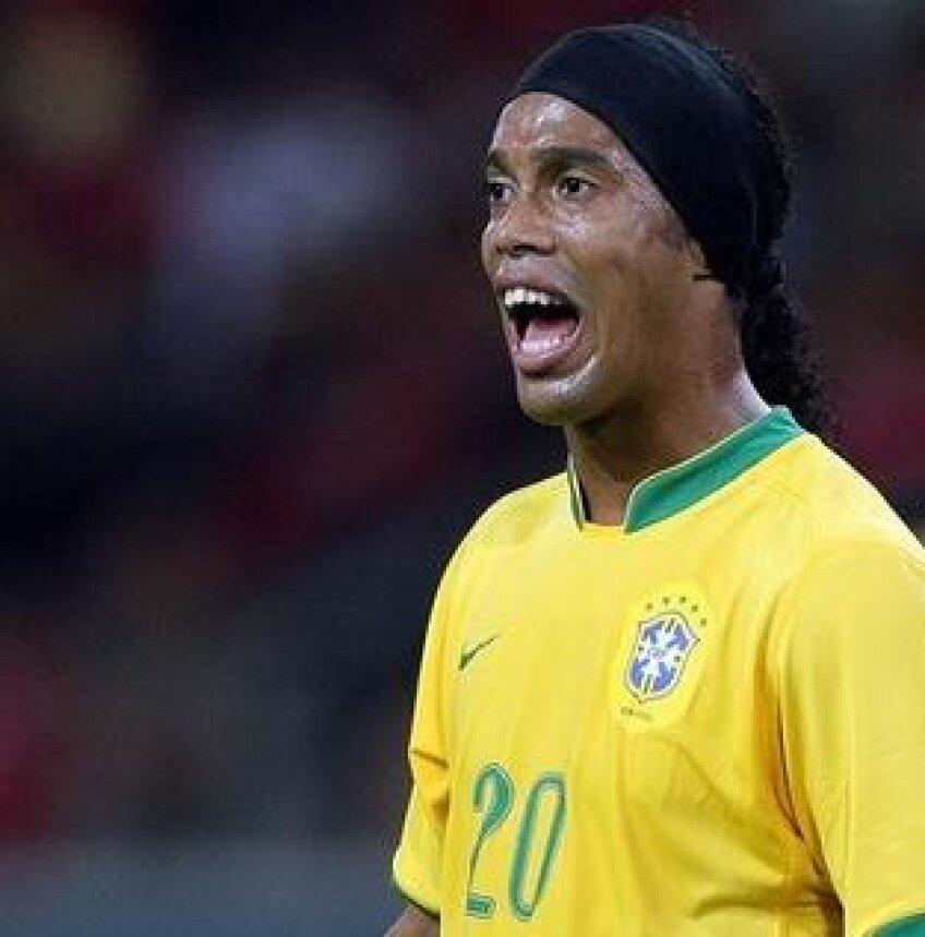 Ronaldinho revine în naţionala Braziliei la amicalul cu Ghana