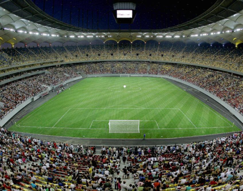 National Arena se va inaugura pe 6 septembrie, cu ocazia partidei România - Franţa