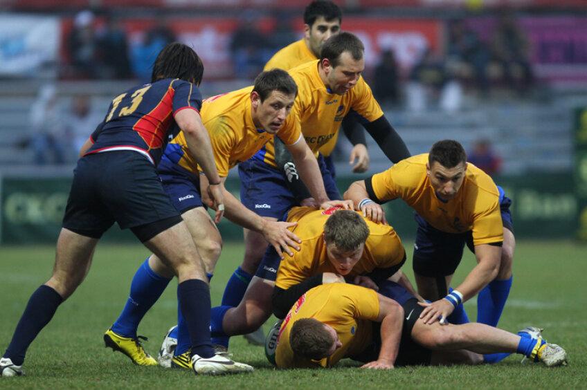 România a învins Ucraina cu 41-16