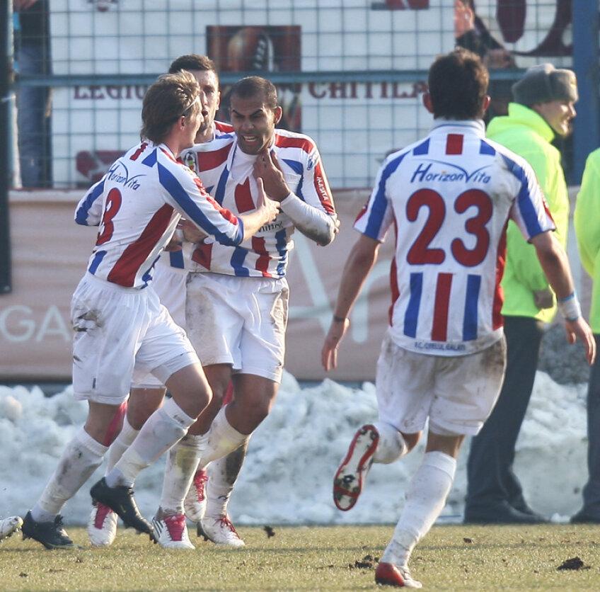 Gălăţenii vor încerca să obţină împotriva Braşovului prima victoria de pe teren propriu din acest sezon