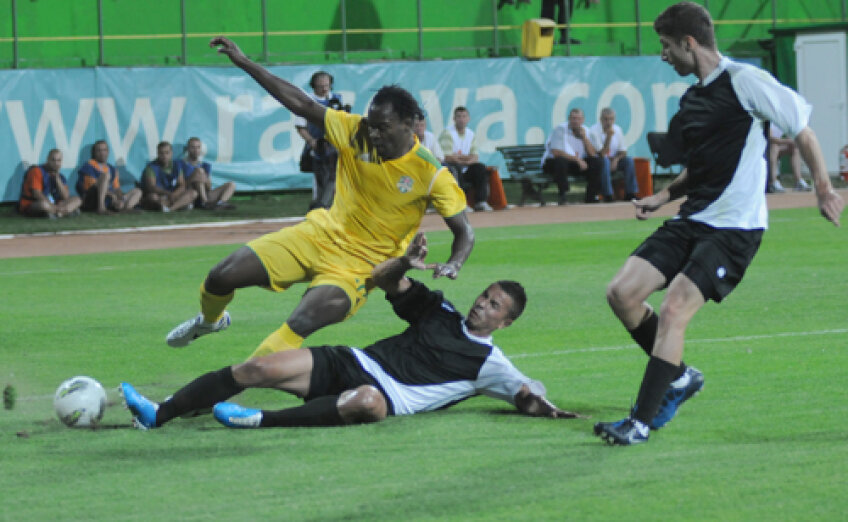 Golul lui Temwanjera nu a fost suficient pentru ca vasluienii să bifeze cele trei puncte
