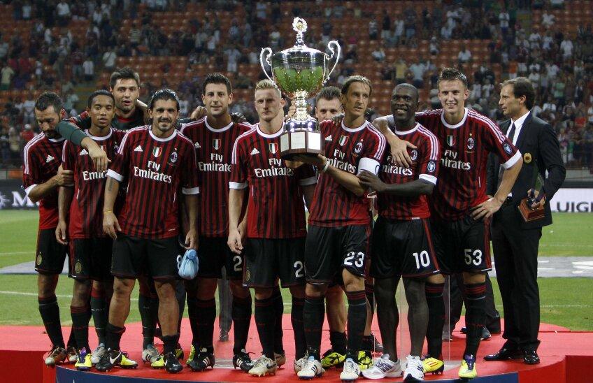 AC Milan a învins Juventus şi a câştigat Trofeul Berlusconi