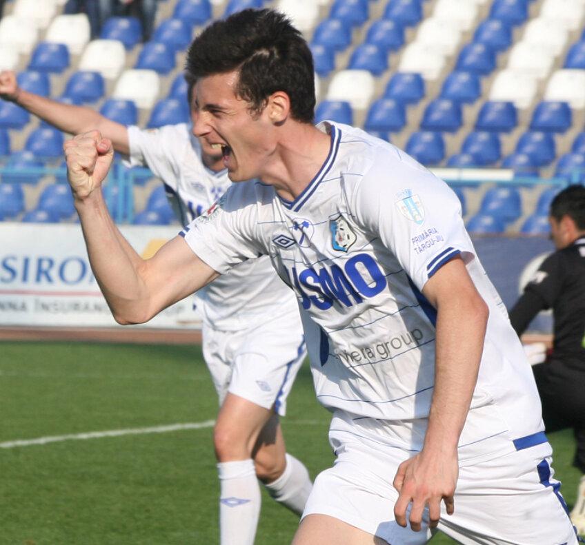Valentin Lemnaru a deschis scorul