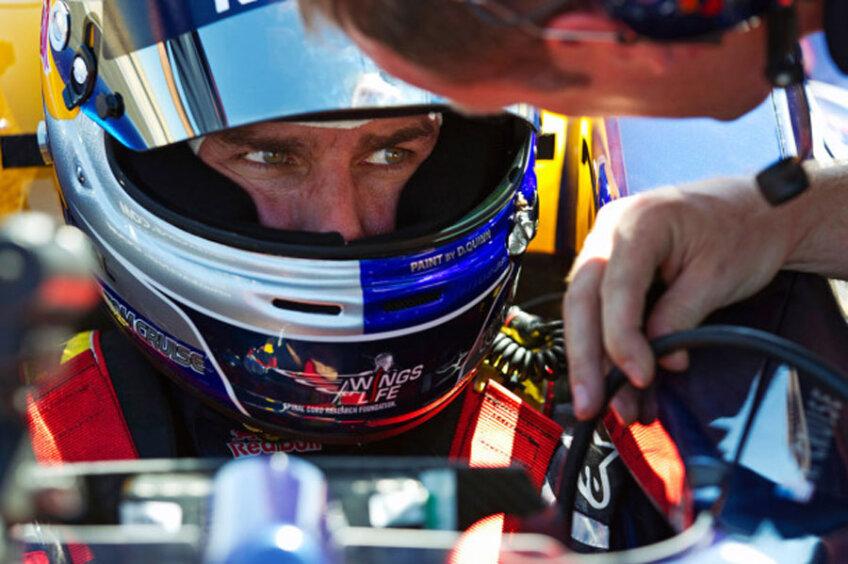 Tom Cruise a testat un monopost de Formula 1