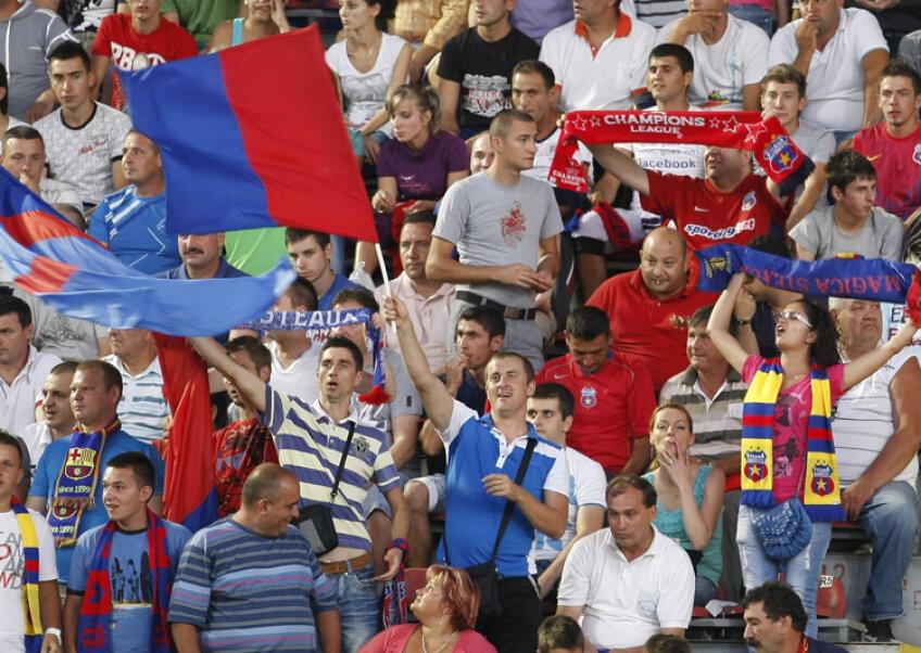 Suporterii Stelei vor reveni alături de echipă după jocul cu FCM Tîrgu-Mureş
