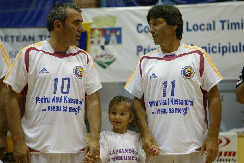 Rotariu a înfiat o fetiţă cu probleme, Kassandra