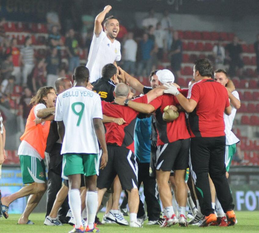 FC Vaslui a eliminat-o pe Sparta Praga în play-off (2-0 şi 0-1)