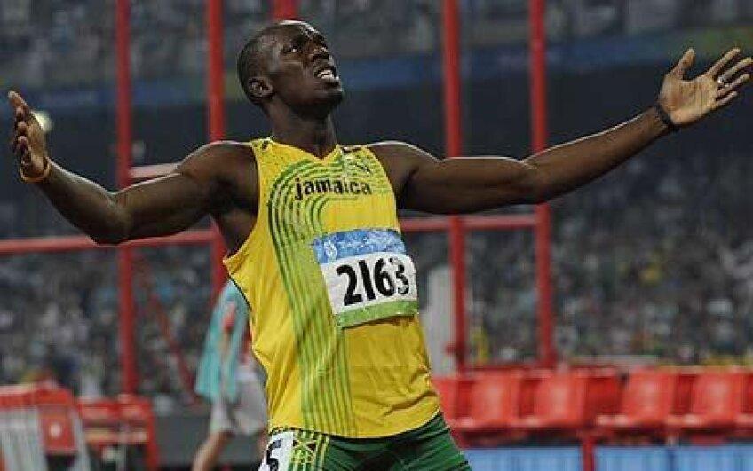 Usain Bolt nu a putut concura în finala la 100m plat