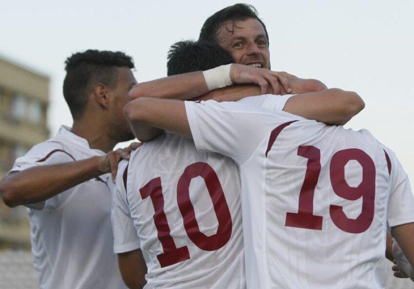 Rapidiştii au reuşit o nouă victorie la Piatra Neamţ, 2-1 cu Ceahlăul