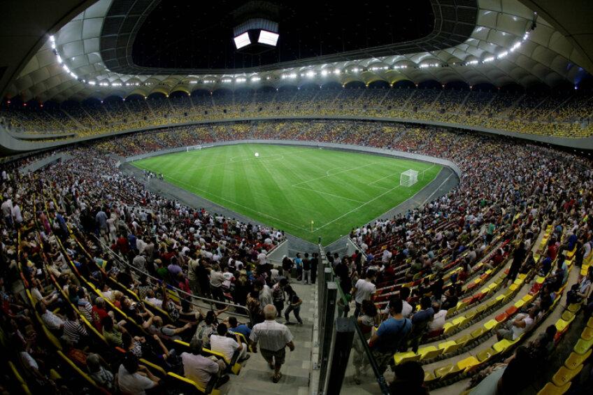 Stadionul Național Arena își va deschide mîine porțile pentru echipa națională