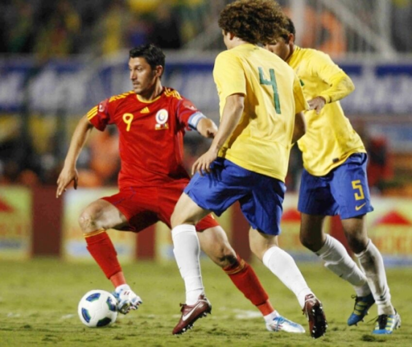 Marica a fost căpitanul naționalei la turneul din America de Sud