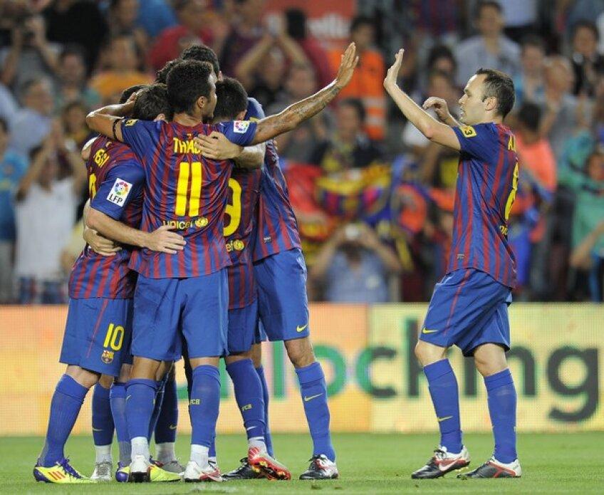 FC Barcelona a invins-o cu 5-0 pe Villarreal