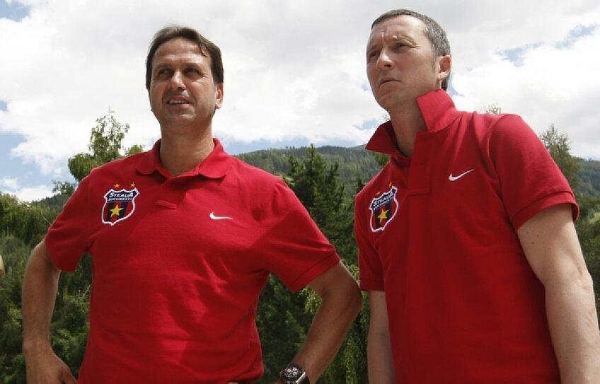 Mihai Stoica și Ronny Levy au lucrat împreună și la Urziceni. Acum încearcă să aducă un nou titlu Stelei