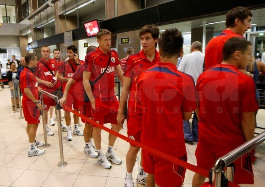 Tricolorii au plecat spre Luxemburg