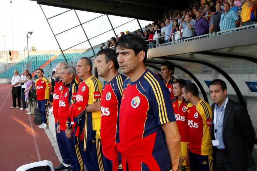 Victor Piturca a revenit cu o victorie in meci oficial pe banca naționalei