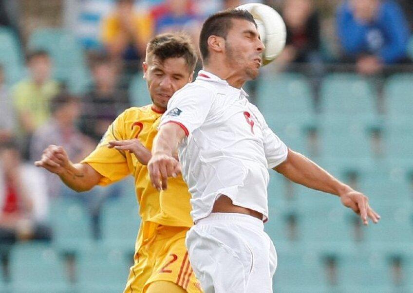 Alexandru Mățel a făcut un meci foarte bun la debutul în echipa națională