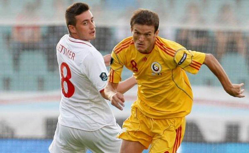 Costin Lazăr a fost unul din cei mai buni oameni ai României aseară, a participat la ambele goluri
