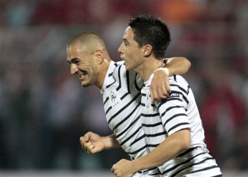 Karim Benzema a deschis scorul în meciul de aseară cu Albania