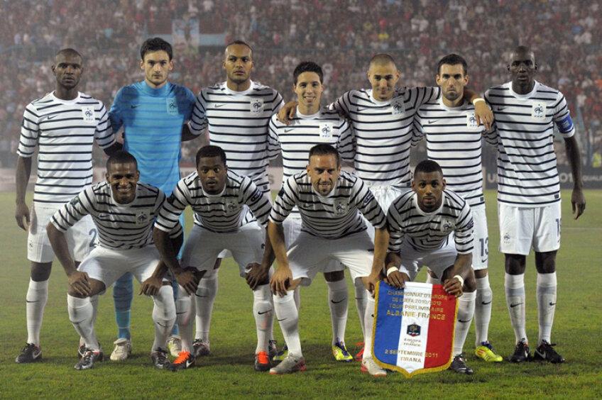 Franţa a învins aseară în Albania, scor 2-1