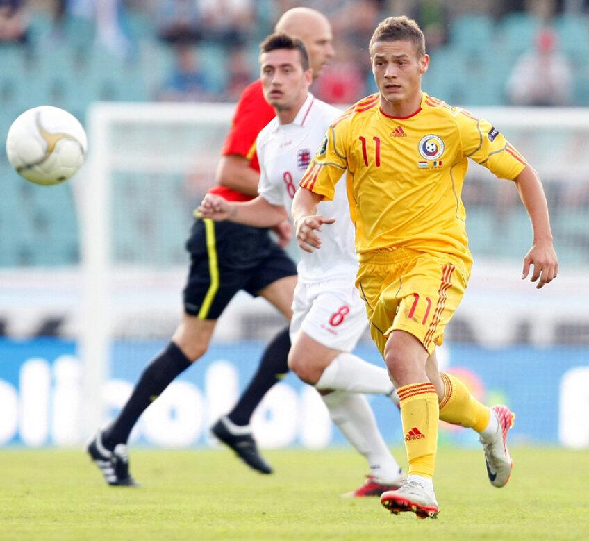 Gabriel Torje a marcat ambele goluri ale României în Luxemburg