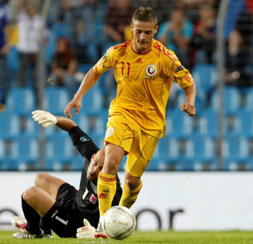 Torje a marcat ambele goluri ale României în Luxemburg
