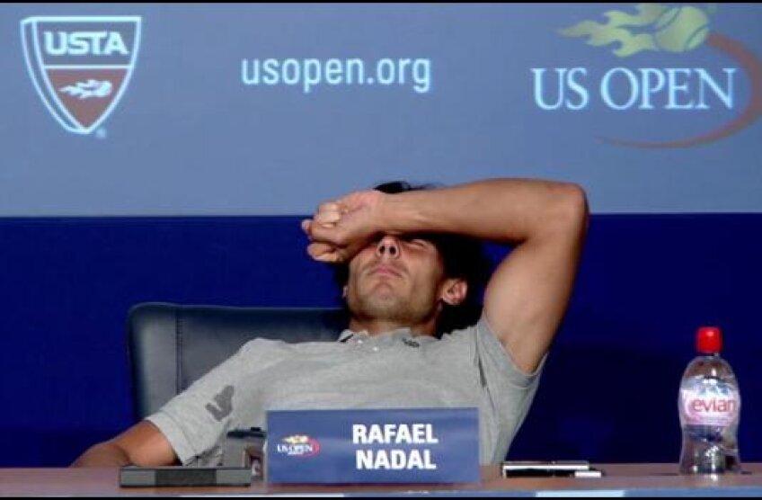 Clipe de groază pentru Nadal la US Open