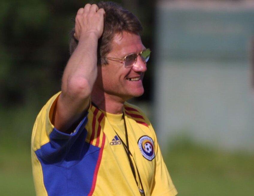 Boloni a fost selecţionerul României din 2000 pînă în 2001