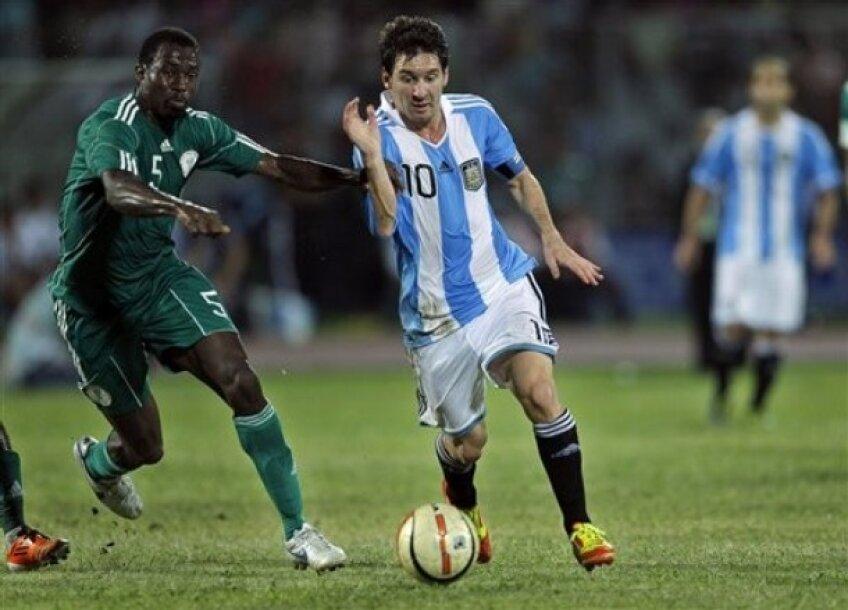Messi a fost de neoprit şi împotriva nigerienilor